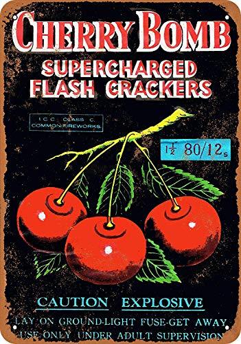 Sary buri Cherry Bomb Supercharged Firecrackers Wandkunst Garage Club Bar Dekoration - Schlafzimmer Kollektion Von Cherry
