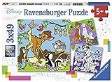Ravensburger 3 49 pièces Amis Mickey Mouse, Puzzle, Casse Tete, Enfants, Garcon, Jouet Fille, Jeux, Disney, 4005556080434, Néant
