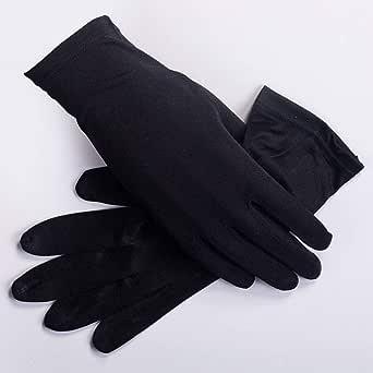 Agelec Vollfinger Sonnenschutz-Handschuh-Dame-Sommer UV-Schutzhandschuhe Anti-Rutsch-Screen-Handschuhe Ice Silk Spitzenhandschuhe REIT Driving D/ünne Handschuhe