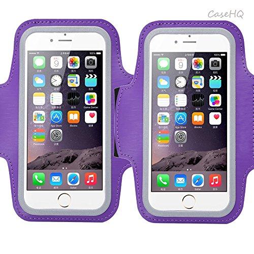 Cosmic Sportarmband für Apple iPhone 7/7Added iPhone 6/6S Added to Samsung Galaxy S7/S6/S5Schweiß-On-accepted Armbelt mit kleinen Halter & Tasche für Schlüssel Karte 4,5'14,5cm Bildschirm
