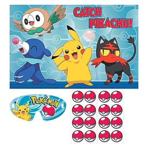 Amscan-271859-Prty-Spiel-Pokemon-Core