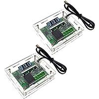 diymore W1209 - Termostato digitale LED per controllo della temperatura, modulo di controllo della temperatura, DC 12 V…