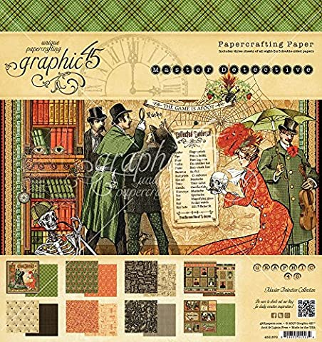 Graphic 45 ~ Master Detective ~ Paper Crafting 8
