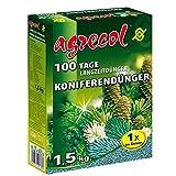 Premium Langzeitdünger für 100 Tage - Koniferendünger für Zypressen Wacholder und alle Nadelbäume 1,5Kg für 40 Pflanzen