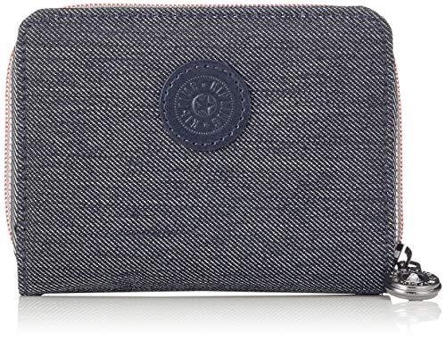 Blaue Damen Geldbörse (Kipling Damen MONEY POWER Geldbörse, Blau (Active Denim) 9.5x12.5x3 cm)