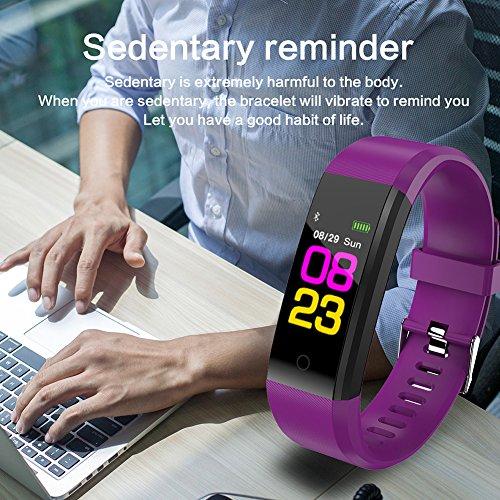 Pulsera Smarts, Monitor de Actividad con Monitor de frecuencia cardíaca, Resistente al...