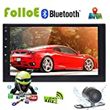 Universal 2 DIN Android 6.0 capapcitive Touchscreen Auto PC Tablet Doppel Audio 7 GPS Navi Auto-Stereo-Radio keine DVD MP3 Player in Dash Haupteinheit WiFi steering-wheel High Definition Bluetooth 4.0 DAB + RDS WiFi 4 G 3 G, Unterstützung Dash Cam OBD2 cam-in, Lenkradsteuerungsübernahme AUX Subwoofer Audio