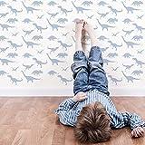 Dinosaurier dekorative Wandschablone - Schablonen für wände - Maler Schablonen