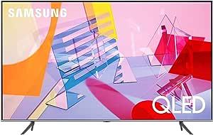 """Samsung QE50Q64TAUXZT Serie Q60T Modello Q64T QLED Smart TV 50"""", Ultra HD 4K, Wi-Fi, Silver, 2020, Esclusiva Amazon"""