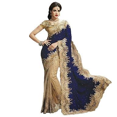 Sari indien mariage bollywood for Robes de mariage designer amazon
