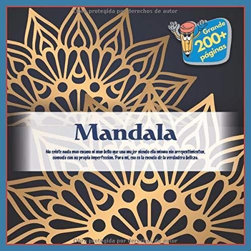 Mandala - No existe nada mas escaso ni mas bello que una mujer siendo ella misma sin arrepentimientos, comoda con su propia imperfeccion. Para mi, esa es la esencia de la verdadera belleza.