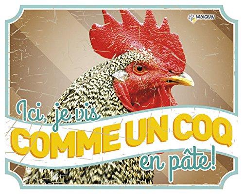 VADIGRAN Panneau Photo Poule Vintage 1 pour Élevage Agriculture Urbaine d167d1a6fe46