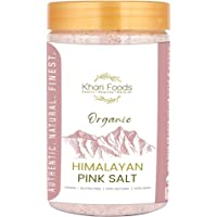Khari Foods Organic Himalayan Pink Salt 900g, Fine Grains, No Chemicals, Traces of 84+ Minerals