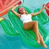 Schwimmendes Bett Wasser aufblasbare ,Schwimmendes Bett Wasserspielzeug Kactus schwimmende Schwimmer verdickte Erwachsene Sommer Meer Strand Pool Unterhaltung