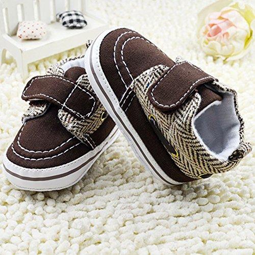 ROPALIA s?uglings Schuhe Prewalker Schuhe weichen Boden Cotton Krippe Schuhe Coffee