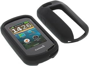 foto-kontor Tasche für Garmin Oregon 750 Oregon 750t Schutzhülle Silikon Case Schutz Hülle schwarz