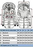 Marikoo Damen Winter Mantel Steppmantel Nova (vegan hergestellt) Schwarz Gr. XL Test