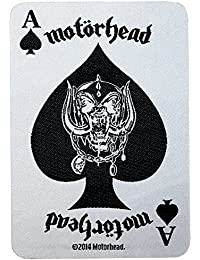 MOTÖRHEAD écusson aCE oF sPaDES cARD patch tissé 10 x 7 cm