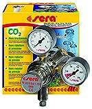 sera 08037 flore CO2-Druckminderer - Präzisionsdruckminderer für CO2-Flaschen mit außen liegendes Ventil, Made in Germany