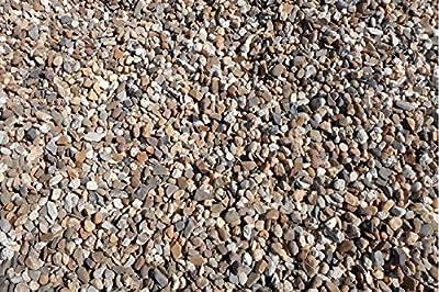 25 kg gewaschener bunter Rheinkies 8-16 mm - Buntkies Teichkies Waschkies Zen Garten LIEFERUNG KOSTENLOS von Der Naturstein Garten auf Du und dein Garten