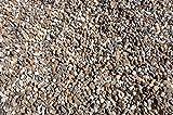 25 kg gewaschener bunter Rheinkies 2-8 mm - Buntkies Teichkies Waschkies Zen Garten Lieferung KOSTENLOS
