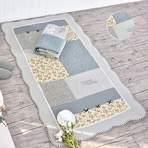 Cocpet Baumwolle Wattepad Türmatte Ist Geeignet for Wohnzimmer Schlafzimmer Bett Kissen Wasserrutsche Maschine Waschbar Waschbar Ztoyby (Size : 110 * 210cm)