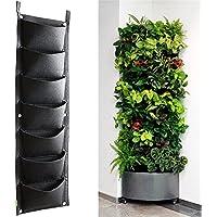 Maceta vertical para colgar en la pared o en la pared para jardinería en interiores y jardines