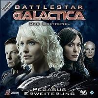 Heidelberger Spieleverlag - 194 - Jeu de société d'aventures fantastiques Battlestar Galactica: Pegasus Erweiterung - Langue : Allemand