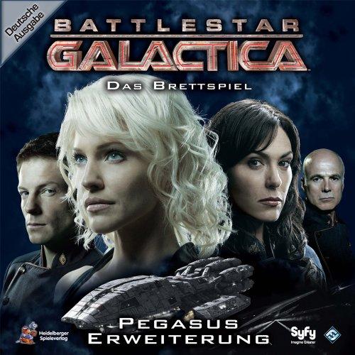 Heidelberger Spieleverlag HE194 - Battlestar Galactica Pegasus, Juego de Mesa Importado de Alemania