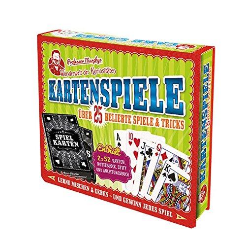 Professor Murphys Wunderwelt der Kuriositäten - Kartenspiele: mit zwei Kartenspielen, einen Spielblock, Stift und ein Buch mit Kartentricks