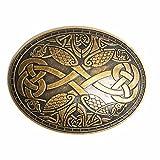 BLESSUME Cru Médiéval Viking Broche Norrois Style Broches Un Pièce