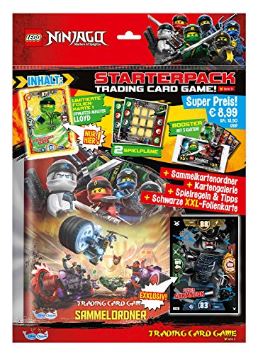 80a9a6ea2 Top Media LEGO 179587 Sammelkarten Ninjago Serie 3 (1 Starter)