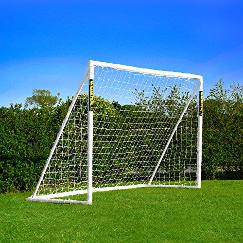 FORZA Portería de Fútbol PVC - Amplia Gama de Tamaños (2,4m x...