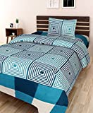 #10: Amayra Home 3D Designer Printed 180TC Polycotton Single Bedsheet with 1 Pillow Cover