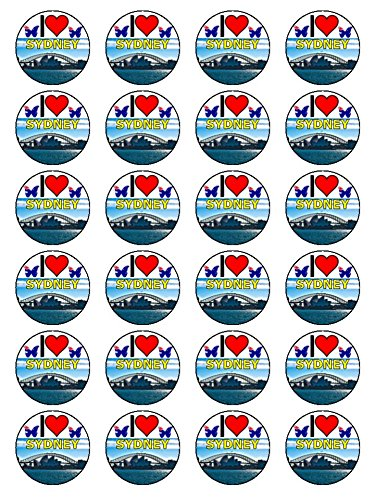 x24-15-inch-i-love-sydney-birthday-cup-cake-toppers-decorations-on-edible-rice-paper