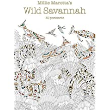 Millie Marotta's Wild Savannah (Postcard Book): 30 Postcards (A Millie Marotta Adult Coloring Book) by Millie Marotta (2016-08-02)