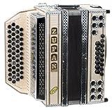 Zupan Maple IVD Harmonika Signature Modell B-Es-As-Des (Knopfakkordeon, 48 Diskantknöpfe, 16 Bassknöpfe, 8 Helikonbässe)