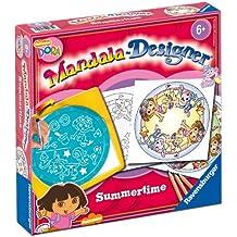 Ravensburger - 29975 - Loisir Créatif - Dessins - Mandala Designer - Dora Summertime