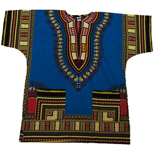 DASHIKI maglia, diversi colori disponibili #23 Taglia (Mens Dashiki)