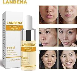 Lepakshi Lanbena Vitamin C Serum Vc Essence Remove Dark Spot Freckle Speckle Fad