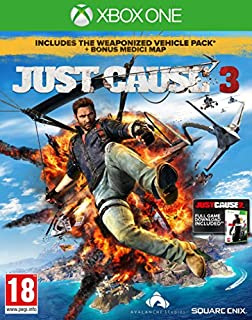 Just Cause 3 with Guide to Medici (Exclusive to Amazon.co.uk)(Xbox One) (B00X19FNG8) | Amazon price tracker / tracking, Amazon price history charts, Amazon price watches, Amazon price drop alerts