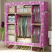 Kleiderschrank Tuch Einfache Einrichtungsgegenstände Garderobe Oxford Tuch Schlafzimmer Schlafsaal Schrank Kleiderschrank , p , wide 150cm* deep 45cm* high 170cm