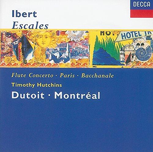 Ibert: Concerto for Flute & Orchestra - 3. Allegro scherzando