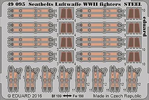 (EDP49095) - Eduard Photoetch 1:48 - Steel Seatbelt Luftwaffe WW2 Fighter