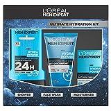 L'Oreal Men Expert Ultimate Hydration Kit 3-Piece Gift Set