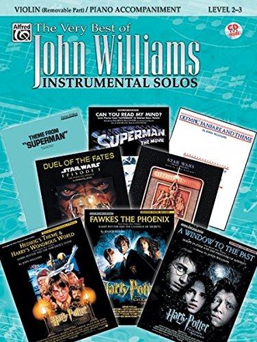 The Very Best of John Williams for Strings: Violin / Piano Accompaniment (incl. CD) (Partner Beste Film)