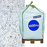 Hamann Marmorsplitt Carrara 5-8 mm Big Bag 1000 kg - Mit kreativen Ideen kann jeder Garten durch Zierkies und Naturstein aufgewertet und edel gestaltet werden.