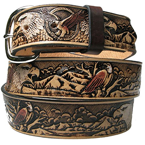 genuine-big-white-eagle-design-100-country-and-western-leather-removable-buckle-made-in-usa-mens-bel