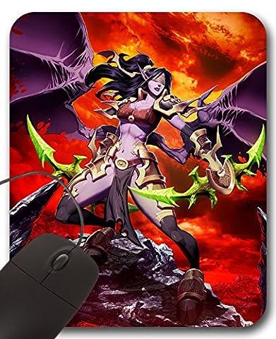 Demon Hunter Girl Mousepad WOW - World of Warcraft Tapis de Souris (B)