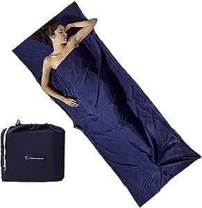 2 sacs de couchage d'été 210 X 75 cm